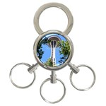 Space Needle 3-Ring Key Chain