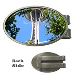 Space Needle Money Clip (Oval)