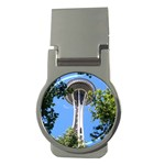 Space Needle Money Clip (Round)