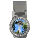 Space Needle Money Clip (CZ)