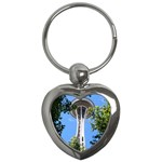 Space Needle Key Chain (Heart)