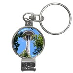 Space Needle Nail Clippers Key Chain