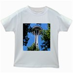 Space Needle Kids White T-Shirt