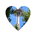 Space Needle Magnet (Heart)