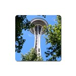 Space Needle Magnet (Square)