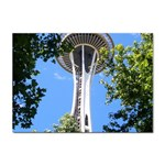 Space Needle Sticker A4 (10 pack)