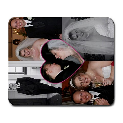 Wedding Mouse Pad By Michelle Bock   Collage Mousepad   85tirre57rfx   Www Artscow Com 9.25 x7.75 Mousepad - 1