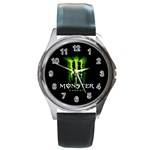 New Hot Monster Energy Round Metal Watch