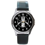 New U2 360 Round Metal Watch