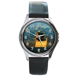 Great wall Round Metal Watch