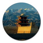 Great wall Round Mousepad