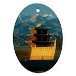 Great wall Ornament (Oval)