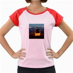 Great wall Women s Cap Sleeve T-Shirt