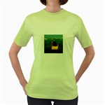 Great wall Women s Green T-Shirt