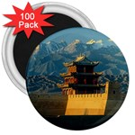 Great wall 3  Magnet (100 pack)