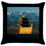 Great wall Throw Pillow Case (Black)