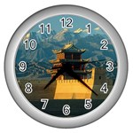 Great wall Wall Clock (Silver)