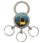 Great wall 3-Ring Key Chain
