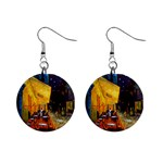 Vincent Van Gogh 1  Button Earrings