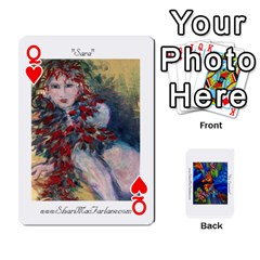 Queen Catherine s Deck By Alana   Playing Cards 54 Designs   K7msn457a5ea   Www Artscow Com Front - HeartQ