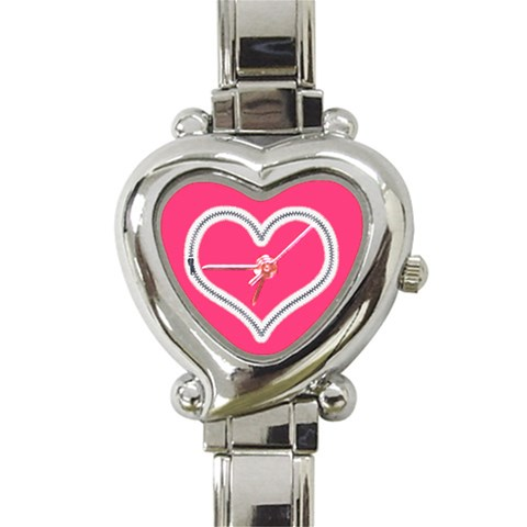 Zip Heart Charm Watch By Catvinnat   Heart Italian Charm Watch   Yz0j9o2tvqub   Www Artscow Com Front