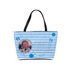 Baby Boy Diaper Bag By Laurrie   Classic Shoulder Handbag   Sqgs42b6uzjh   Www Artscow Com Back