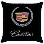 CADILLAC Throw Pillow Case (Black)