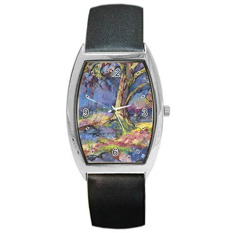 A Peaceful Place By Alana   Barrel Style Metal Watch   Gqjr0uhntig8   Www Artscow Com Front