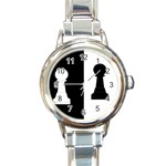 pawnchess792X670 Round Italian Charm Watch