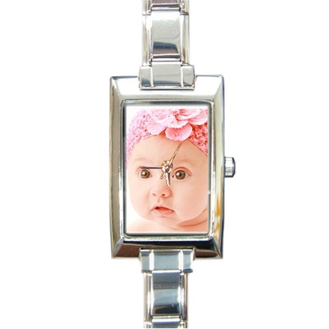 Colorbaby By Valeriemarie   Rectangle Italian Charm Watch   U0t4h9nwxh8l   Www Artscow Com Front