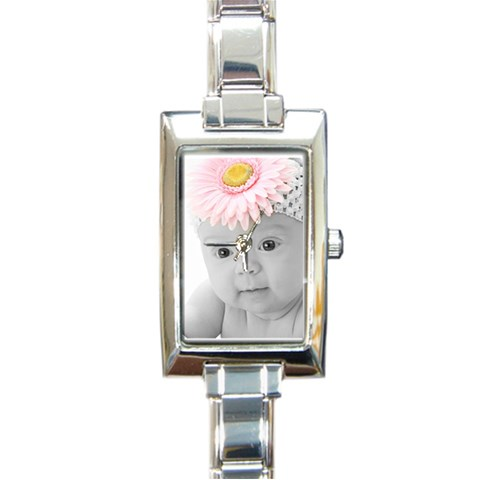 Watbw By Valeriemarie   Rectangle Italian Charm Watch   Gmujp0zv0k9f   Www Artscow Com Front