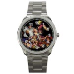 Street Fighter Games Sport Metal Watch