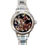 STREET FIGHTER NEW 2500 Round Italian Charm Watch
