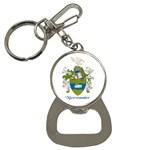 Family Crest Keychain - Bottle Opener Key Chain