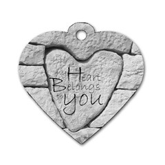 Modern Love Heart Dogtag Www Catdesignz Com By Catvinnat   Dog Tag Heart (two Sides)   Vpu1noixpy64   Www Artscow Com Front
