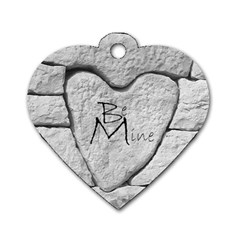 Modern Love Heart Dogtag Www Catdesignz Com By Catvinnat   Dog Tag Heart (two Sides)   Vpu1noixpy64   Www Artscow Com Back