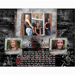 Michelle s Family Calender By Michelle   Wall Calendar 11  X 8 5  (12 Months)   0il0kml1psc4   Www Artscow Com Month