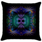 SQUARE-BLANKS-102 Throw Pillow Case (Black)