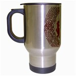 Tiger s Year Travel Mug (Silver Gray)