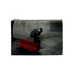 Modern Love Makeup Bag By Catvinnat   Cosmetic Bag (medium)   Tt2ajrupf4pn   Www Artscow Com Front