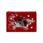 Cosmetic Bag Valentine Love - Cosmetic Bag (Medium)