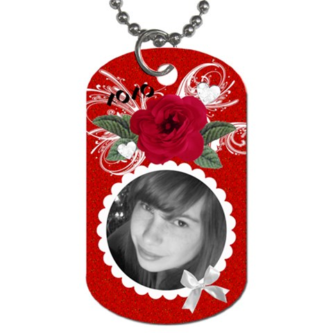 Hang In Boyfriend s Car : ) By Laurrie   Dog Tag (one Side)   Qjrkxbxf3df6   Www Artscow Com Front