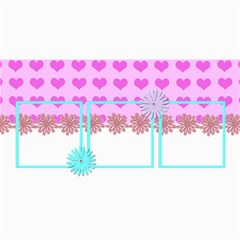 Valentines Card By Gina 8 x4  Photo Card - 2