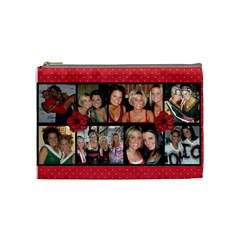 Friends Cosmetic Bag (medium) By Nicole Mccracken   Cosmetic Bag (medium)   Xc6hnwbyq9px   Www Artscow Com Front