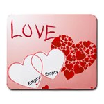 love - Large Mousepad