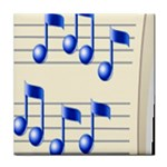 music_notes_2 Tile Coaster