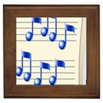 music_notes_2 Framed Tile