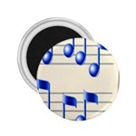 music_notes_2 2.25  Magnet
