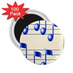 music_notes_2 2.25  Magnet (100 pack)