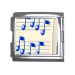 music_notes_2 Mega Link Italian Charm (18mm)